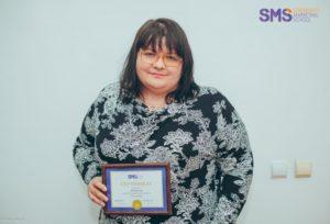 Нина Мищенко в Школе Маркетинга SMS