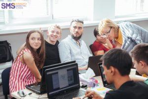 Практическая работа на курсах Школы Маркетинга SMS